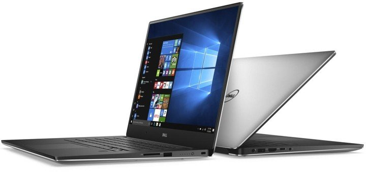 Dell XPS 15 (9560), stříbrná