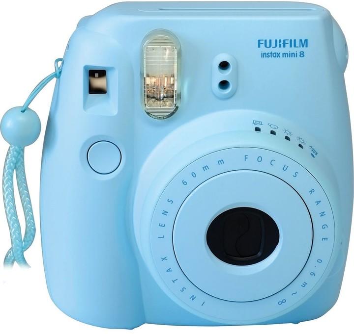 Fujifilm Instax MINI 8, modrá