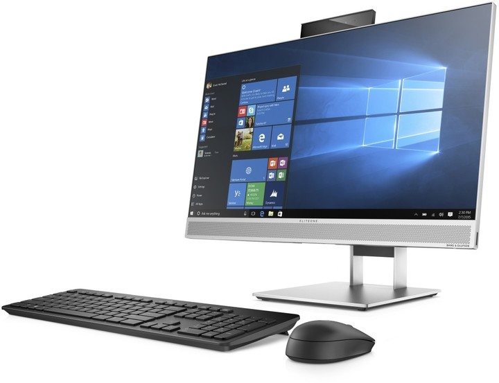 HP EliteOne 800 G4 Touch, šedá
