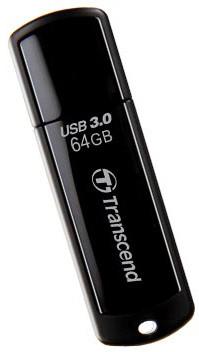 Transcend JetFlash 700 64GB, černý