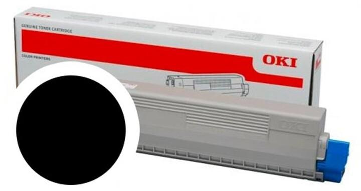OKI 47095704, černá