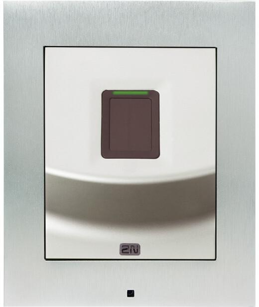 2N Access Unit 2.0 Fingerprint, IP čtečka otisků prstů, bez krycího rámečku