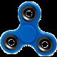 Lifestyle Fidget Spinner Glow, tmavě modrý