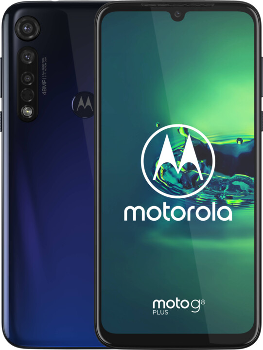 Motorola Moto G8 Plus, 4GB/64GB, Cosmic Blue