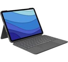 """Logitech ochranný kryt s klávesnicí Combo Touch pro Apple iPad Pro 11"""" (1., 2., 3. generace), US, še"""