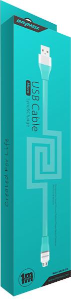 iMyMax Lovely Micro USB Cable, modrá