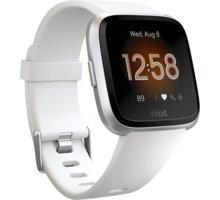 Fitbit Versa Lite - White/Silver Aluminum Kuki TV na 2 měsíce zdarma