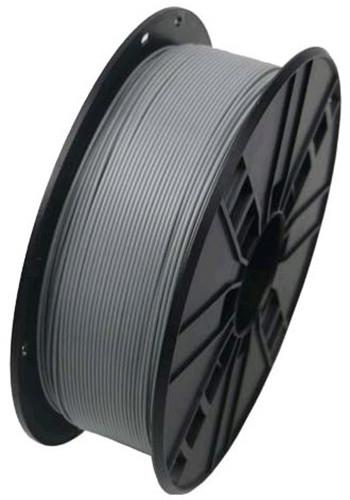 Gembird tisková struna (filament), ABS, 1,75mm, 0,6kg, šedá