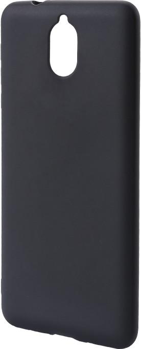 Epico Pružný plastový kryt pro Nokia 3.1 SILK MATT, černý