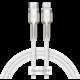 BASEUS kabel Cafule Series, USB-C - Lightning, M/M, nabíjecí, datový, 20W, 1m, bílá