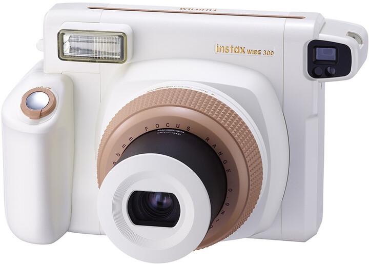 Fujifilm Instax Wide 300 camera EX D, toffee