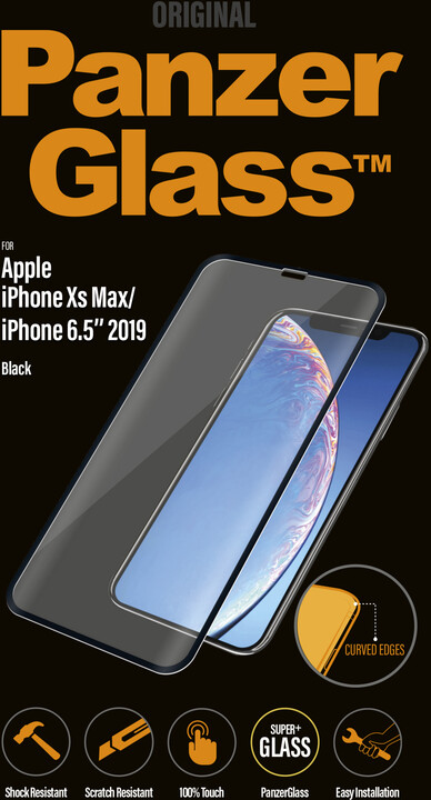 PanzerGlass Premium pro Apple iPhone Xs Max/11 Pro Max, černé