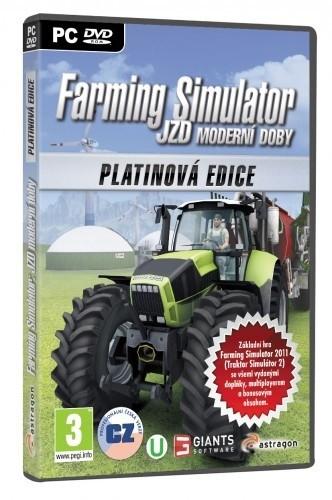 Farming Simulator: JZD moderní doby - Platinová edice (PC)
