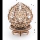 UGEARS stavebnice - Mechanická květina, dřevěná, mechanická