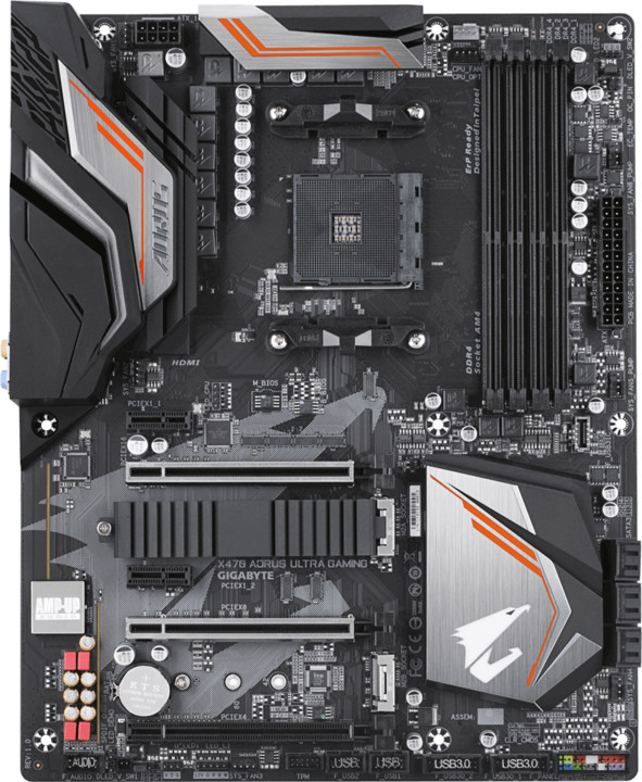 GIGABYTE X470 AORUS ULTRA GAMING - AMD X470