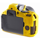 Easy Cover silikonový obal Reflex Silic pro Nikon D5500, žlutá