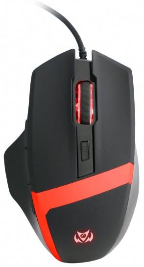 C-TECH Kyllaros, černá/červená