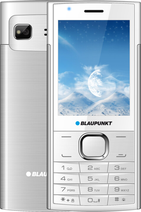 Blaupunkt FL 01, White - Silver