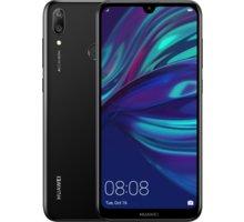 Huawei Y7 2019, 3GB/32GB, černá  + Voucher na slevu 300 Kč na další nákup v hodnotě nad 3000 Kč (max. 1 ks, který získáte při objednávce nad 499 Kč) + Elektronické předplatné čtiva v hodnotě 4 800 Kč na půl roku zdarma