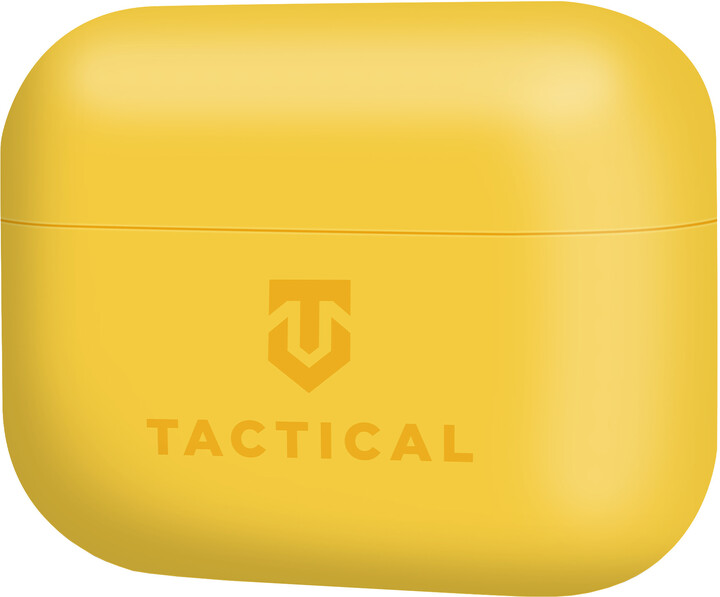 Tactical ochranné pouzdro Velvet Smoothie pro Apple AirPods Pro, žlutá