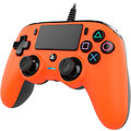 Nacon Wired Compact Controller, oranžový (PS4)