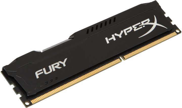 HyperX Fury Black 4GB DDR3 1600