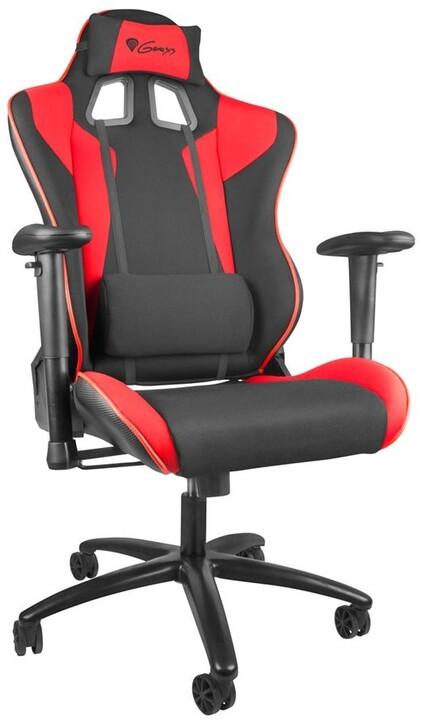 Genesis Nitro 770, černá/červená