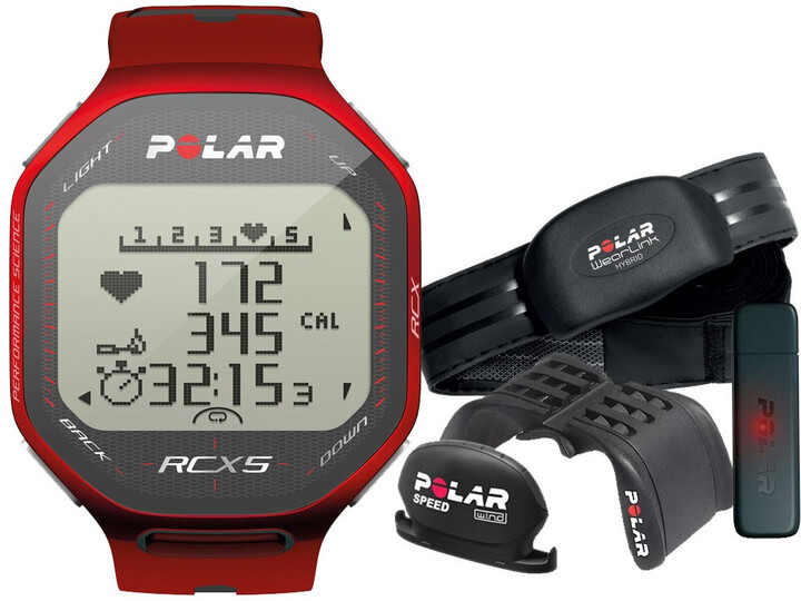 Polar RCX5 Red bike (CYKLO), vč. interface DataLink