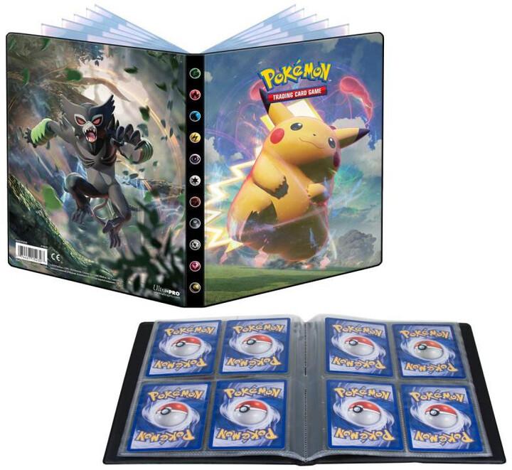 Pokémon TCG: Sword and Shield - Vivid Voltage A5 Album (80 karet)