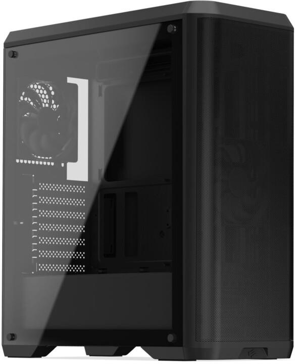 SilentiumPC Ventum VT4 TG, okno, černá