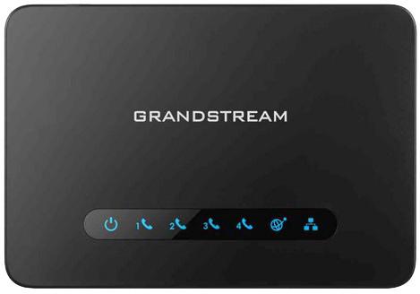 Grandstream HT812 - Analogový adaptér, 2x FX port, 1x 10/100
