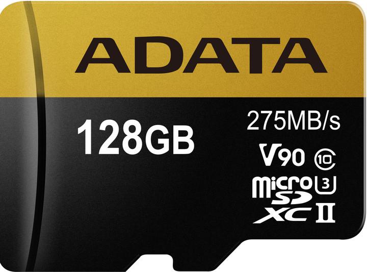 ADATA Micro SDXC Premier One 128GB UHS-II U3