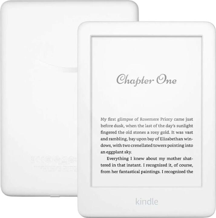 Amazon New Kindle 2020 8GB, bílá -verze bez reklam
