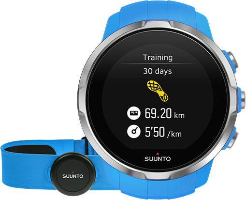 Suunto Spartan Sport HR, modrá