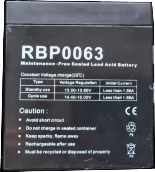 CyberPower náhradní baterie, 12V/5Ah