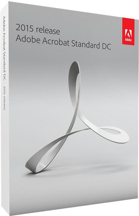 Adobe Acrobat Standard DC (12) ENG WIN upgrade z verzí 10 a 11