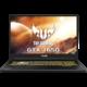 Asus TUF Gaming FX705DT-AU018T, černá  + Servisní pohotovost – Vylepšený servis PC a NTB ZDARMA + DIGI TV s více než 100 programy na 1 měsíc zdarma