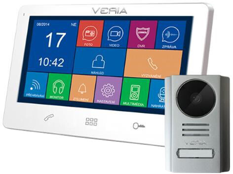 VERIA SET videotelefonu VERIA 7091B + VERIA 229