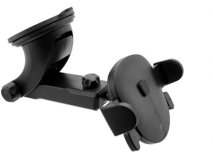 FIXED Click XL univerzální držák s přísavkou, černá