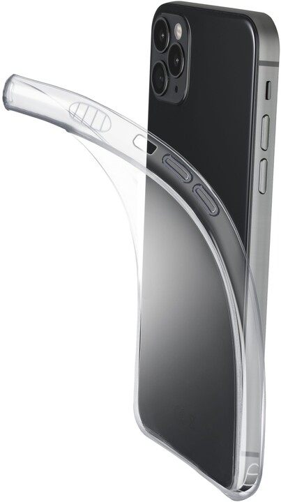 Cellularline extratenký zadní kryt Fine pro Apple iPhone 12/12 Pro, transparentní