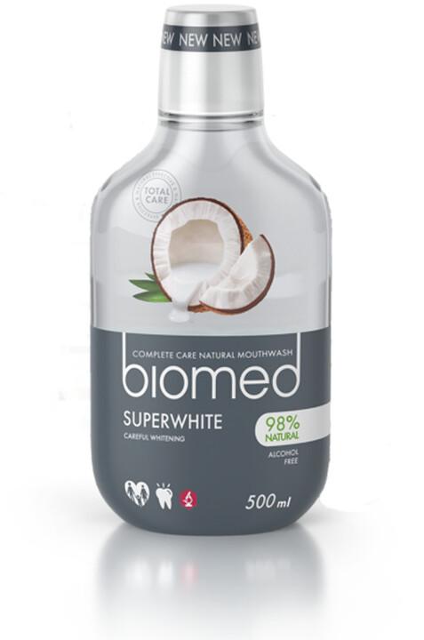 Ústní voda Biomed Superwhite, kokos, 500 ml