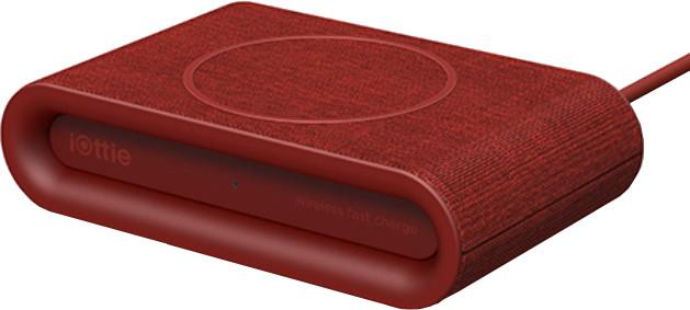 iOttie iON Wireless Pad Plus Ruby, červená