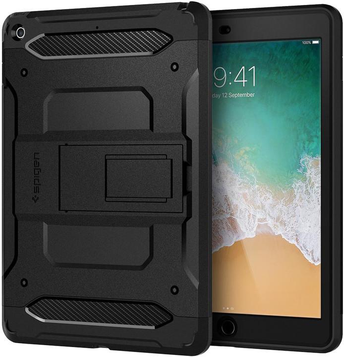 "Spigen Tough Armor TECH, black - iPad 9.7"""