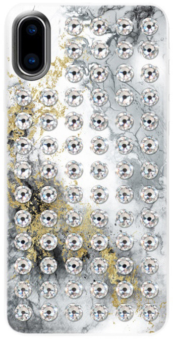 Bling My Thing zadní kryt Extravaganza Pure Alabaster/Crystal pro Apple iPhone X, Swarovski®