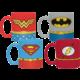 Hrnek DC Comics - Uniforms Espresso Sada - 4 ks