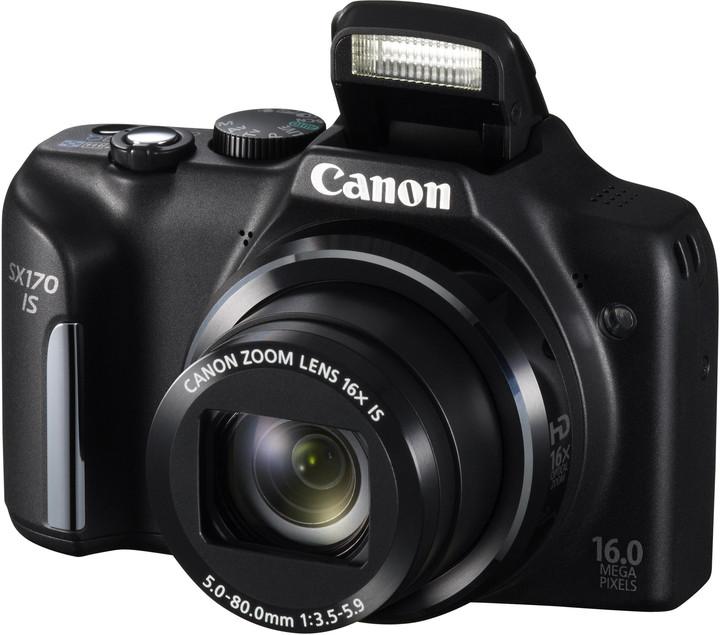 Canon PowerShot SX170 IS, černá