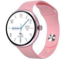 IMMAX chytré hodinky Lady Music Fit, růžová - 09040