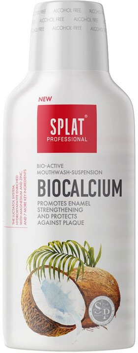 Ústní voda Splat Biocalcium NEW, kokos, 275 ml
