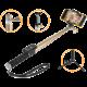 GoGEN 4 Selfie tyč teleskopická, bluetooth, zlatá  + Voucher až na 3 měsíce HBO GO jako dárek (max 1 ks na objednávku)