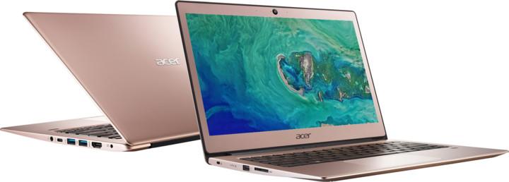 Acer Swift 1 celokovový (SF113-31-P2XQ), růžová